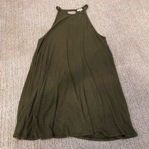 NWT Tobi Olive dress with cut out back